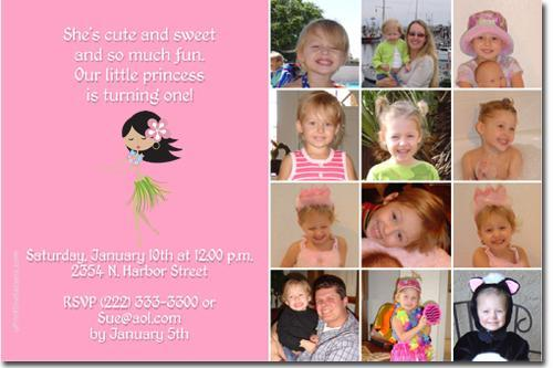 Luau Birthday Invitations **DOWNLOAD JPG IMMEDIATELY**