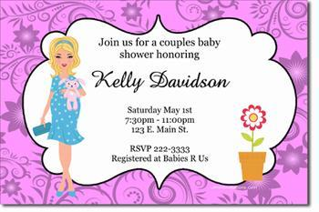 Baby Shower Invitations (Any Color Scheme)
