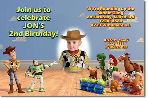Buzz Lightyear Birthday Invitations click for add'l (Download JPG NOW)