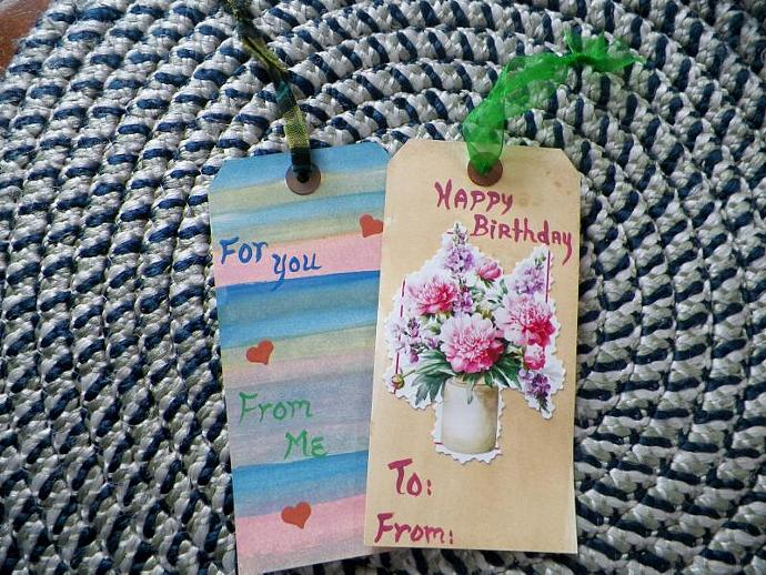 Colorful Gift Tag Set