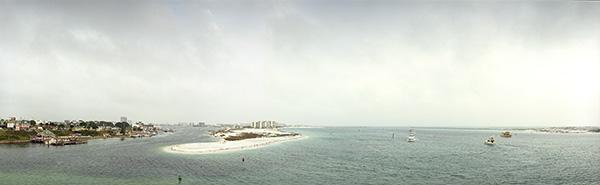 Destin Panoramic on Florida's Gulf Coast