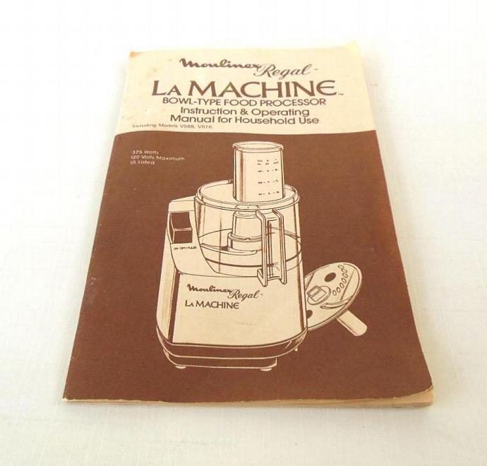 Regal food processor la machine | ebay.