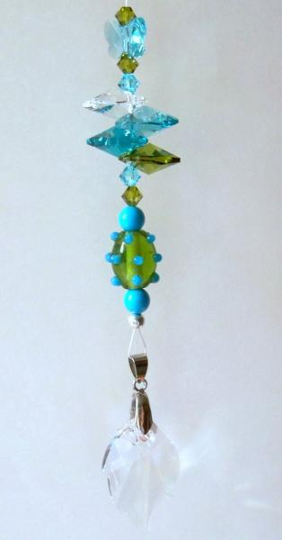 "Sun Catcher - ""Turquoise Butterfly"""