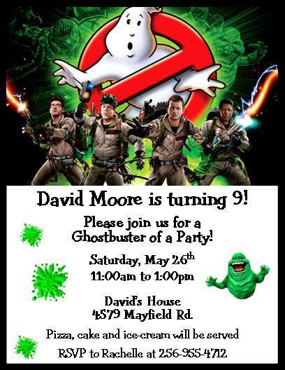 12 PRINTED Ghostbusters Personalized by thenotecardlady on Zibbet