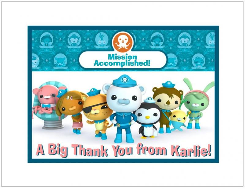 the octonauts thank you notes party destination christmas gift ideas