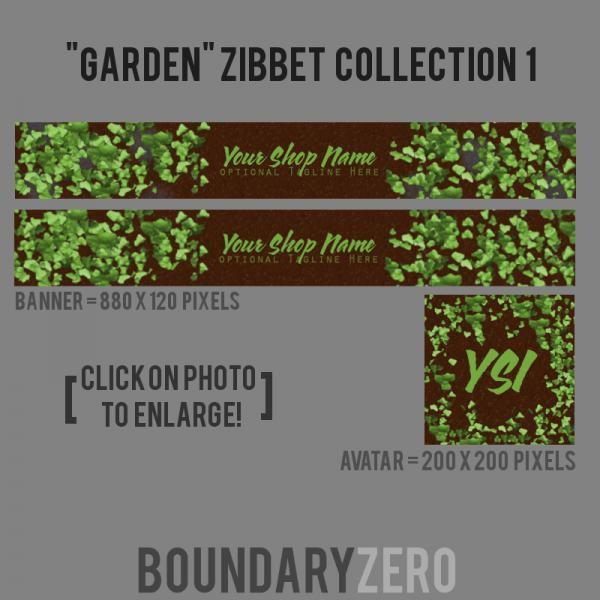 """Garden"" Zibbet Collection 1"