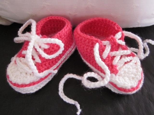 Pink Sneakers, Soft Baby Shoes, Baby Booties for Girls