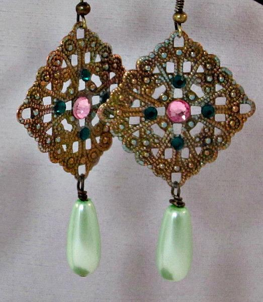 Adele Vintage-style Earrings