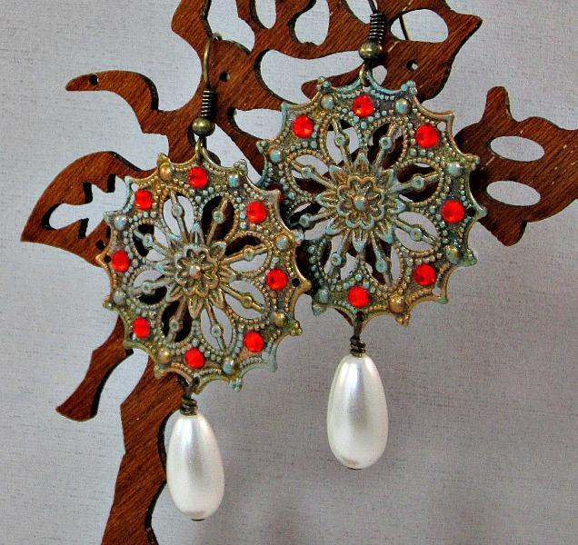 Ancaa Vintage-style Earrings