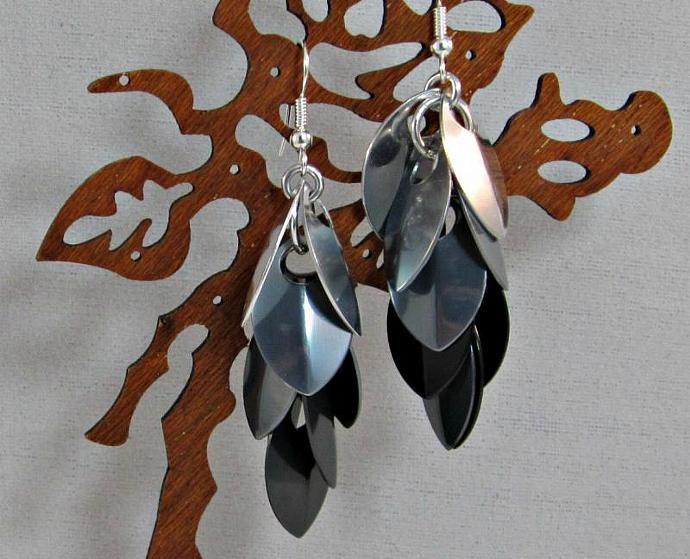 Silver Lining Rain Earrings
