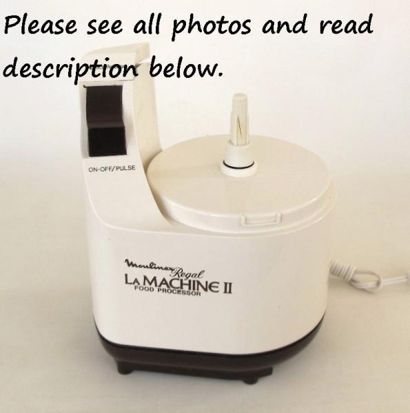 Regal moulinex la machine 1 instruction | lauraslastditch.