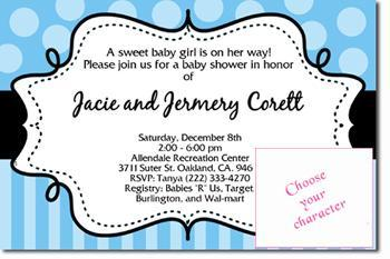 Mickey Mouse Baby Shower Invitations *DOWNLOAD JPG IMMEDIATELY**