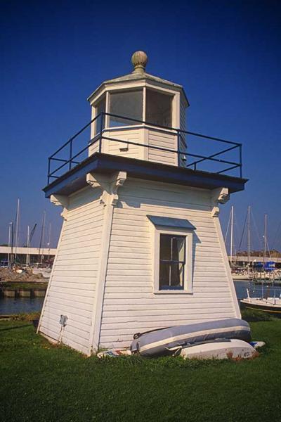 Port Clinton Lighthouse on the Portage River Fine Art Photo