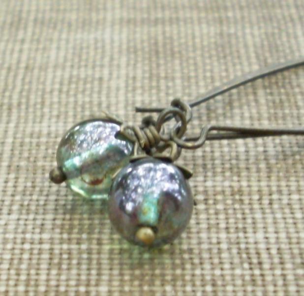 Little Mystic Mossy Green Drops - Enchanted