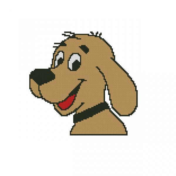 ALL STITCHES - DOG CROSS STTICH PATTERN .PDF -810