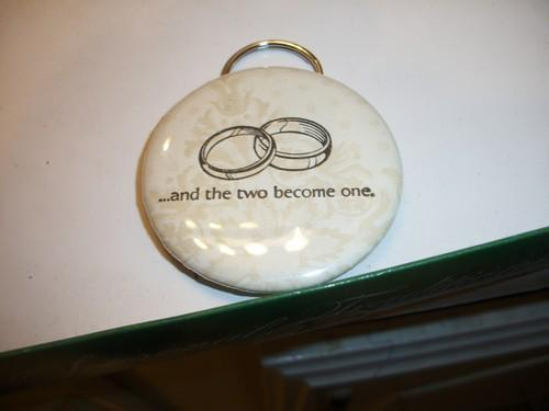 20ct Wedding / Shower Party favors / pocket mirrors and bottle opener keyrings