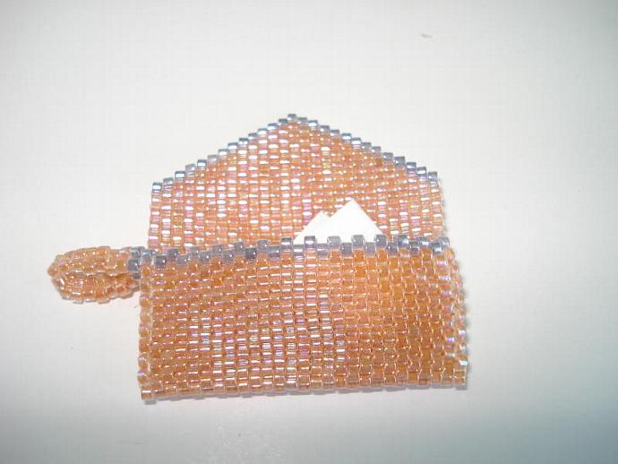 Bead Mini Clutch Pendant - Edged Ichthys