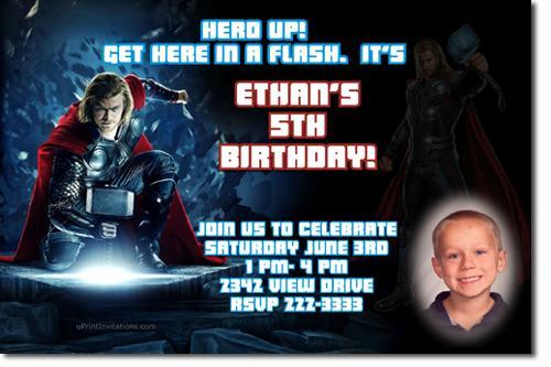 Avengers Birthday Invitations **Download JPG Immediately**