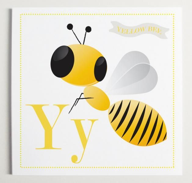 Yy is for Yellow Alphabet Print
