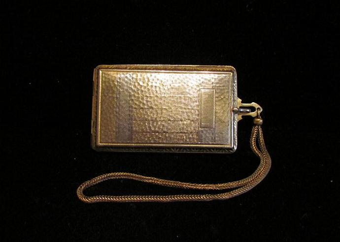 1910 Evans Compact Purse Powder Compact Rouge Compact Mirror Compact Dance Purse