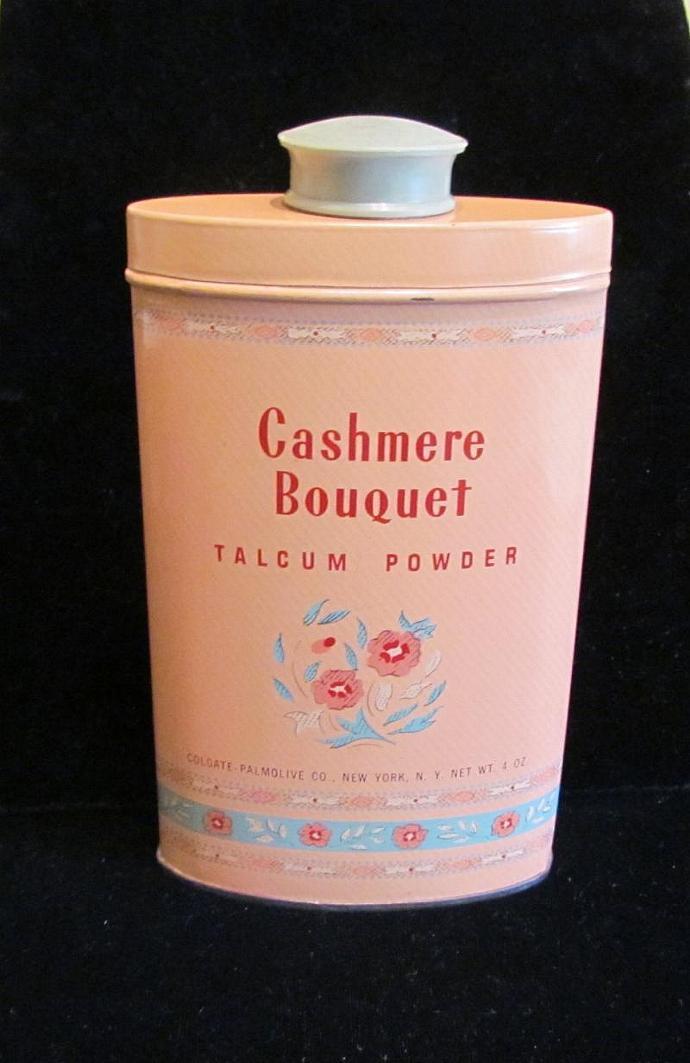Ideal Vintage Cashmere Bouquet Talcum Powder by PowerOfOneDesigns on Zibbet NX47