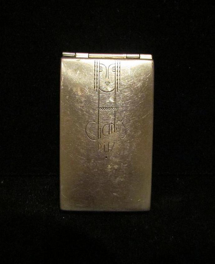Vintage Art Deco Charles Of The Ritz Compact 1930's Compact Powder Compact Rouge