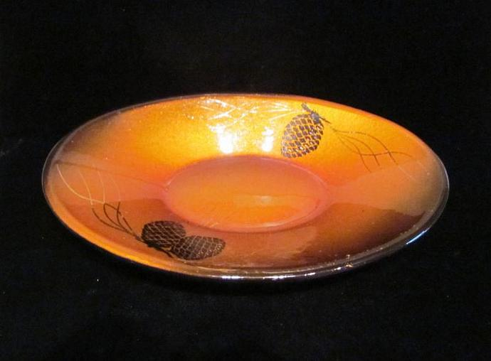 Evans Dish Guilloche Tray 1940's Bowl Vintage Tray Vintage Candy Dish Vintage