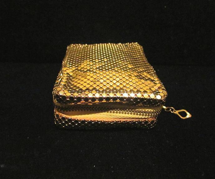 Cigarette Case Whiting & Davis Mesh Case Cell Phone Case Change Purse Card