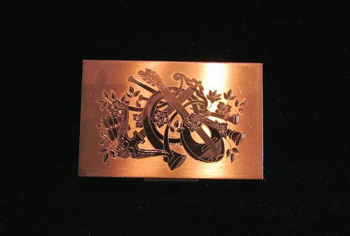 Music Box Compact Elgin American Powder Compact Mirror Compact Musical Compact