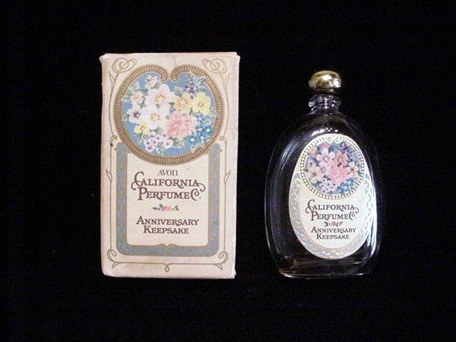 Vintage California Perfume Co 1975 Anniversary Perfume Original Box