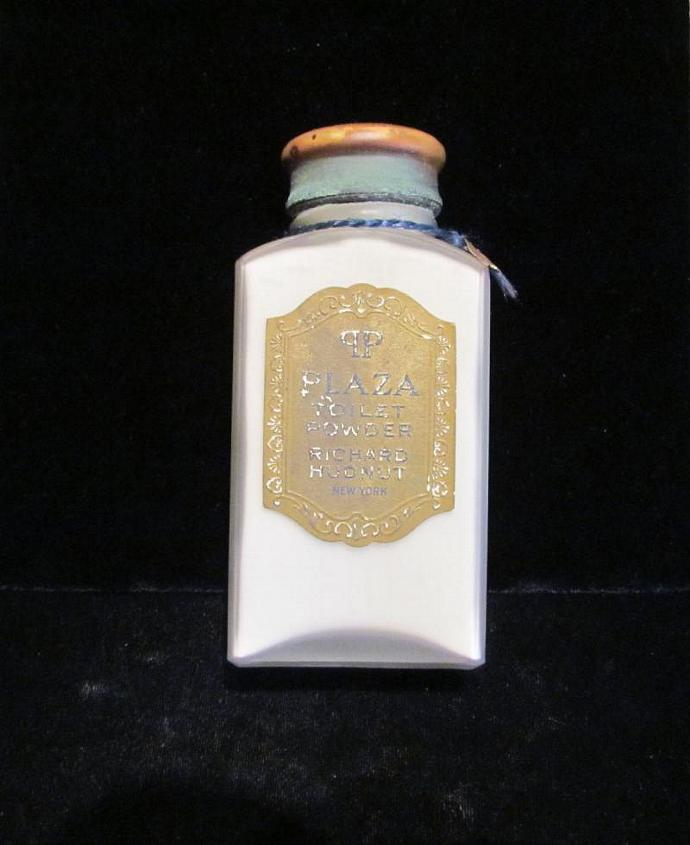 1913 Richard Hudnut Perfume Powder Plaza Toilet Powder Talcum Powder Vintage