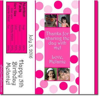Polka Dots Candy Bar Wrappers **DOWNLOAD JPG IMMEDIATELY**