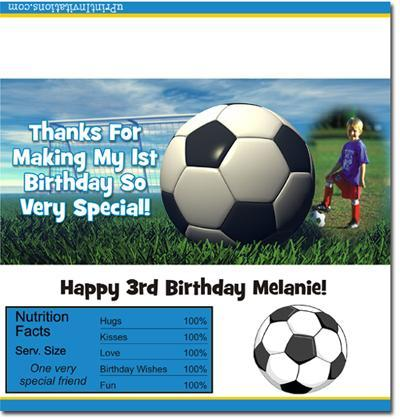 Soccer Candy Bar Wrappers **DOWNLOAD JPG IMMEDIATELY**