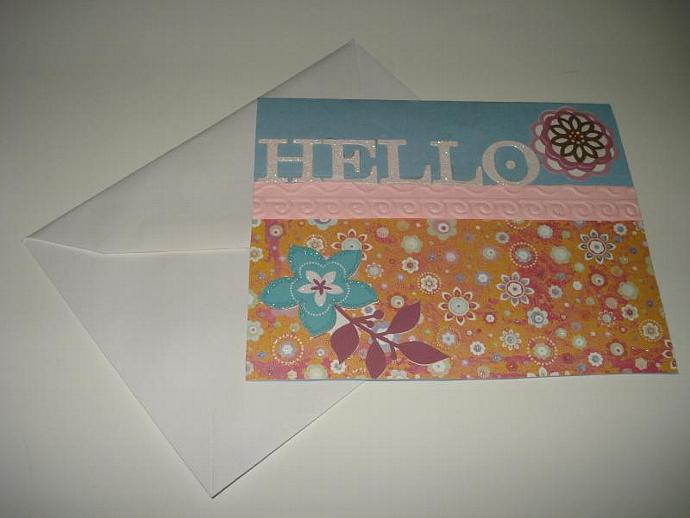 Hello - Note Card