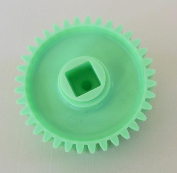 "Nordicware Supremer Ice Creamer Replacement Part - 2 5/8"" Green Gear"