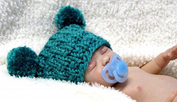 Ez Knit Jester Baby Hat Knitting Pattern By Ezcareknits On Zibbet
