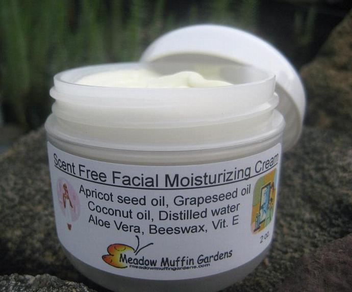 Fragrance-Free, No Scent, Gentle, Moisturizing Facial Cream, Men, Women
