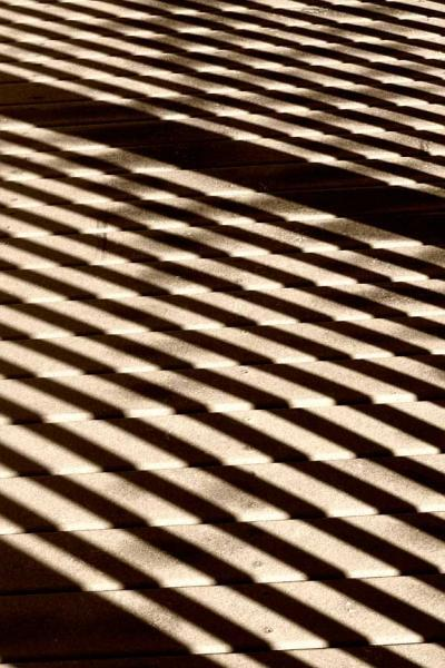 Abstract in Sepia on the Boardwalk No 1 Fine Art Photo