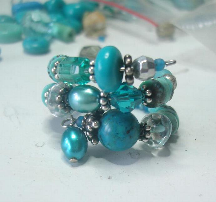 Turquoise/Aquamarine  Ring