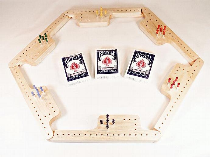 Pegs and Jokers Game Set - Aspen