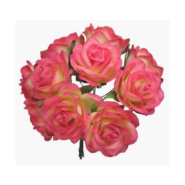 40mm Swan Roses