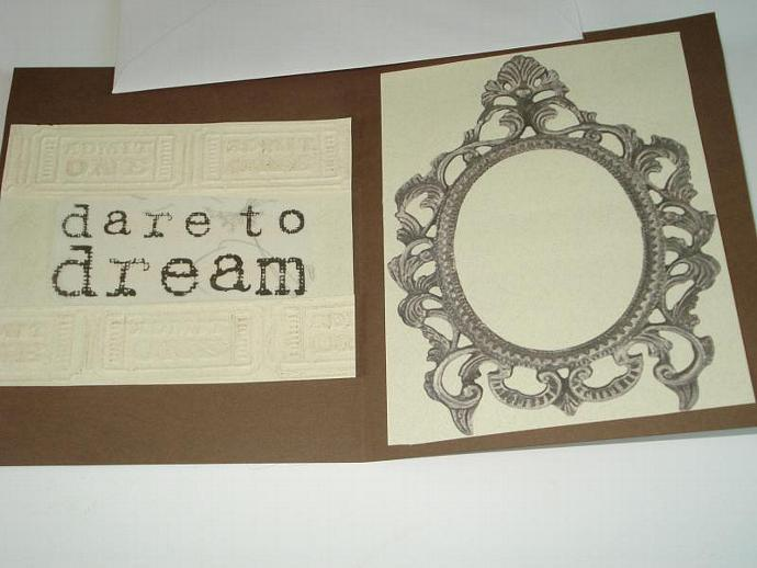Dare to Dream - Note Card