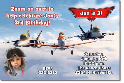 Planes the Movie Birthday Invitations **DOWNLOAD JPG IMMEDIATELY**