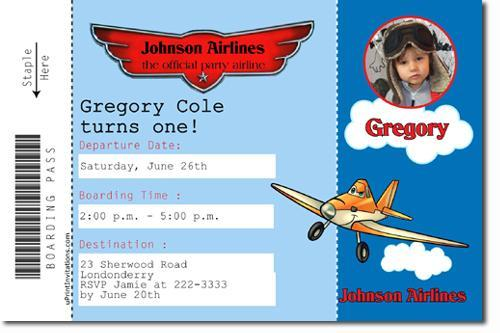 Planes the Movie Birthday Invitations **DOWNLOAD JPG IMMEDIATELY**