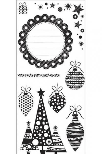 KaiserCraft -Christmas Carnival- Clear Stamps - Brand NEW