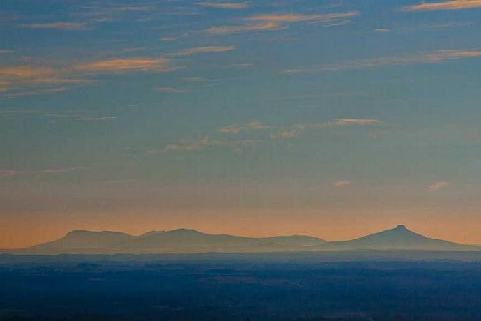 Pilot Mountain and Sauratown Mountain Fine Art Photo