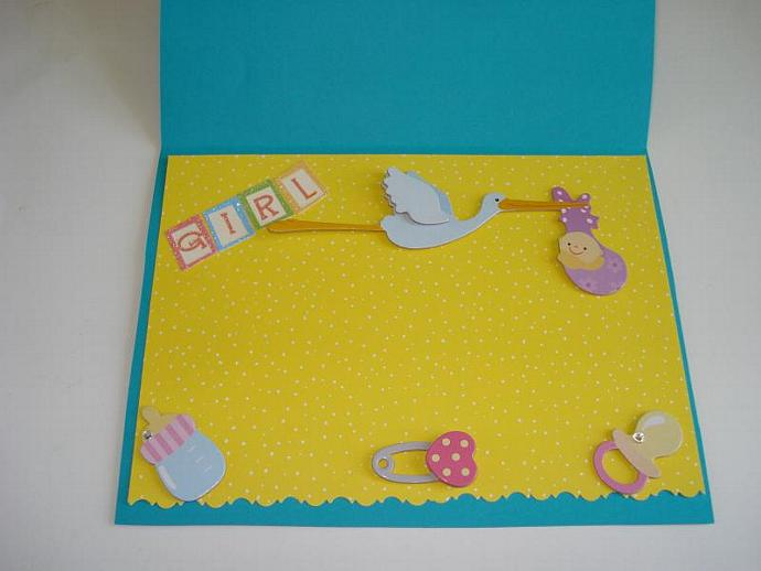 Sugar and Spice: Girl - Note Card