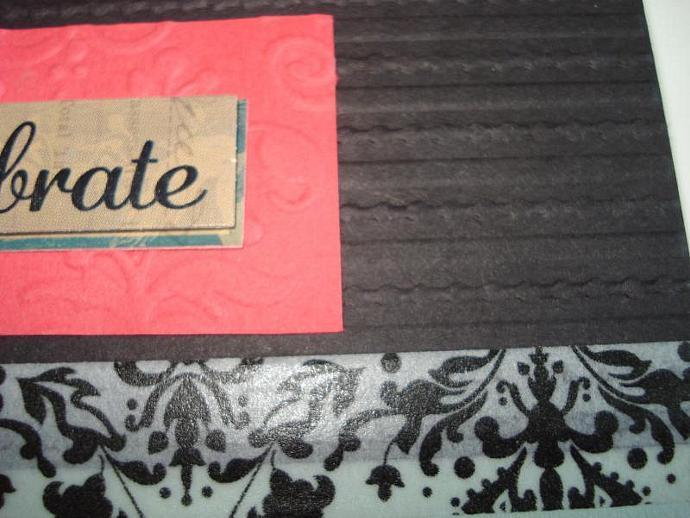 Celebrate - Note Card