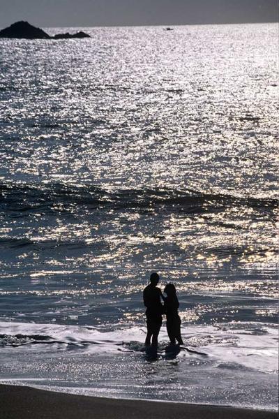 A Couple on the Beach Fine Art Photo