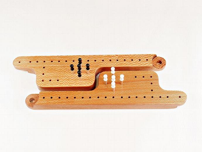 Pegs & Jokers Expansion Set - Quarter-Sawn Sycamore